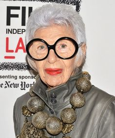 """Style Icon Iris Apfel Explains Why Her Charming Documentary Is Also a """"Love Story"""" from InStyle.com"""