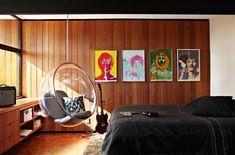 Bedroom designs simple bed designs hipster bedroom designs bedroom 20 fun and cool teen bedroom ideas Mid Century Modern Bedroom, Mid Century House, Mid Century Style, Mid Century Design, Cool Teen Bedrooms, Modern Bedrooms, Bubble Chair, Design Rustique, Deco Retro
