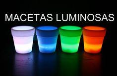 maceta lámpara