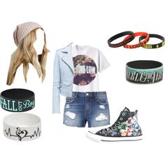 Set 26 by jen28pup on Polyvore featuring Converse and Free People