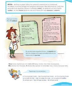 Πέμπτη ...και καλύτεροι !!!: Οριστικό και αόριστο άρθρο... Greek Language, Comics, Blog, Image, Greek, Blogging, Cartoons, Comic, Comics And Cartoons