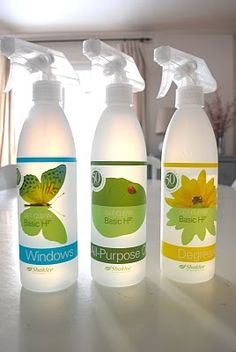 Shaklee. Natural cleaners.