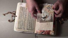 Vintage Birds and Roses Junk Journal