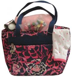 Blue & Pink Flowers LGS Ladies Golf/Tennis Cooler Totes Combos! Find the best golf gear and accessories at Lori's Golf Shoppe. Click through now to see this Tote Combos!