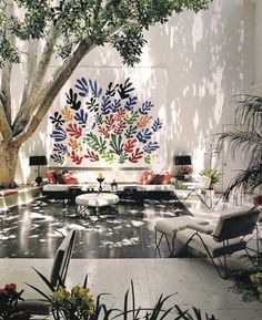 Brody house, A. Quincy Jones architecture and Billy Haines interiors