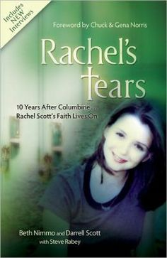 Rachel's Tears: Anniversary Edition: The Spiritual Journey of Columbine Martyr Rachel Scott Rachel s Tears 10 Years After Columbine Rachel Scott s Faith Lives On Problem Of Evil, Good Books, Books To Read, Rachel Scott, 10 Years After, True Crime Books, Book Writer, Names Of Jesus, Nonfiction Books
