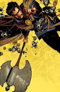 Doctor Strange #1 by Chris Bachalo *