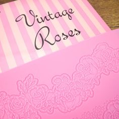 Vintage Roses Cake Lace Mat by Claire Bowman