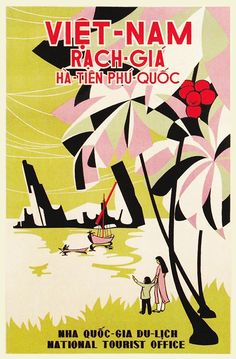Vintage Vietnamese Tourism Posters