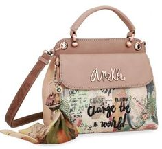 !!!Zweiteilige Damenhandtasche Jungle Nature Anekke Halstuch Gym Bag, How To Wear, Bags, Style, Products, Fashion, Artificial Leather, Sachets, Handbags