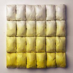 Untitled (Yellow Fade Grid) | Susan Dwyer 2009