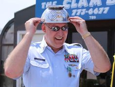 """Military Man Retires with Pastafarian Celebration: """"The guys I work with know that I am an ordained minister in the Church of the Flying Spaghetti Monster. For our holiday party, for example, I ensured that His Noodly Goodness was properly represented, as well as the Festivus pole and other more mainstream (mundane) religious symbols."""""""
