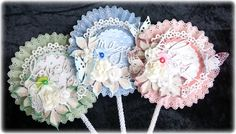 Mitt Lille Papirverksted: Lollipop Cards in the end of Summertime
