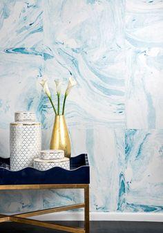 Shoreline Wallpaper by Poppytalk | Milton & King