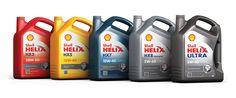 """""""Gama de lubricantes Shell con marca propia Helix"""""""