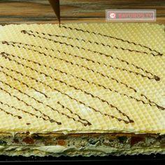 Prăjitură Mozaic cu nucă și rahat – o prăjitură românească care va fi prima în topul deserturilor preferate! - savuros.info Dessert Recipes, Desserts, Cheddar Cheese, Biscuits, Bacon, Delicate, Cake, Food, Pain Au Chocolat