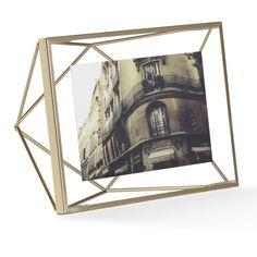 Prisma Brass Frame by Umbra, $16. Allmodern.com