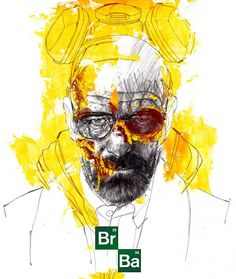 heisenbergchronicles: Walter White by André Toma Breaking Bad Arte, Breaking Bad Series, Cool Drawings Tumblr, Fernanda Young, Jesse Pinkman, Graphic Artwork, Heisenberg, Walter White, Pop Culture