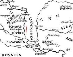 Donauschwaben Region Map Thing 1, Novi Sad, Folk Music, Data Visualization, Montenegro, Family History, Genealogy, Germany, Culture