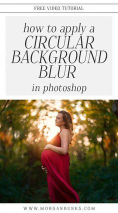 Apply A Circular Background Blur Effect in Photoshop Free video tutorial - how to create a circular blur effect in Photoshop. Free Photography, Photography Lessons, Photoshop Photography, Photography Tutorials, Digital Photography, Photography Articles, Photography Basics, Photography Contract, Wedding Photography