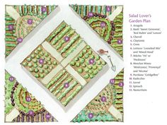 The Salad Lover's Garden Plan - Gardening - Mother Earth Living