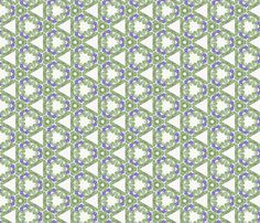 Viola riviniana 02 fabric by xantha on Spoonflower - custom fabric Pattern Making, Linen Bedding, Custom Fabric, Spoonflower, Craft Projects, How To Draw Hands, Fabrics, Colorful, Quilts