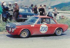 1970 Lancia Fulvia n°200 Pinto-Ballestrieri-Munari (GT1600) 43°ass.
