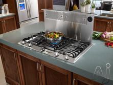 "gas range with downdraft vent by dacor in 30"" model"