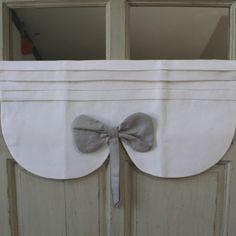 1000 id es sur rideaux de fen tre noeuds sur pinterest for Cantonniere pour fenetre