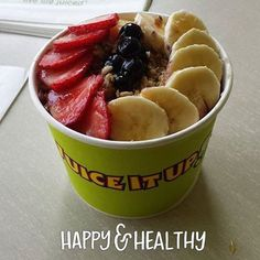 Juice It Up! Superfruit Bowls made with organic acai and pitaya are the perfect thing to make you happy & healthy!