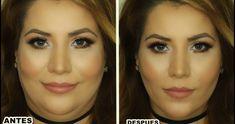 maquillaje para adelgazar la cara hombre