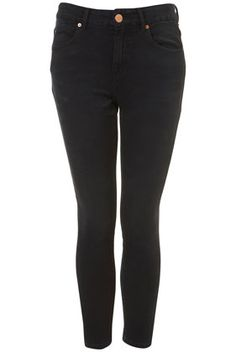 MOTO JAMIE HIGH WAISTED ANKLE GRAZER SKINNY JEANS    Was £40.00  Now £20.00.