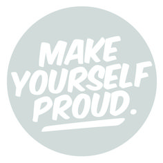 inspiring new year's resolutions - make yourself proud