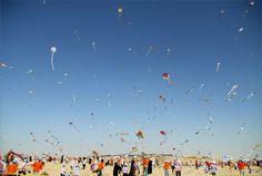 Mass Kite Flying