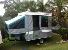 paul and nicky's jayco finch camper trailer rebuild