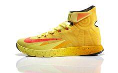 "Kyrie Irving's Nike Zoom HyperRev ""Cavs"" PE, releasing this weekend #nike #kyrieirving #cavs"
