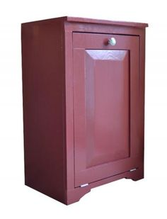 I want to make this!  DIY Furniture Plan from Ana-White.com  Solid wood tilt out trash cabinet or recycling cabinet. Easy to build, fully framed, open back, fits standard trash cans.