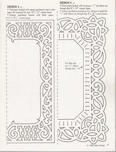 Paper Cut Frame Template (Can I make it work? Paper Cutting Patterns, Paper Cutting Templates, Stencil Patterns, Craft Patterns, Kirigami, Molduras Vintage, Stencils, Paper Art, Paper Crafts