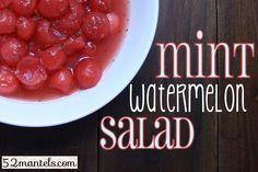 Mint-Watermelon Salad