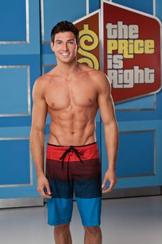 Rob Wilson first male model on price is right.