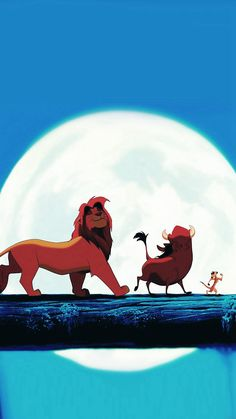 Hakuna Matata Disney Lionking Illust Art #iPhone #8 #wallpaper