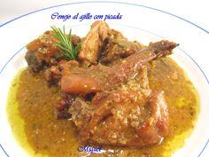 Les receptes del Miquel: Conejo al ajillo con picada