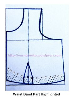 Making Basic Pattern for Sari Blouse