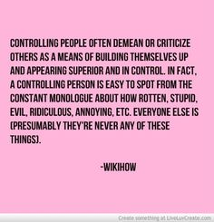 Controlling People Quotes 16 Best quotes about controlling people images in 2019 | Thoughts  Controlling People Quotes