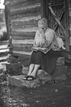 A Praying Mother by Ken Gehring, via Behance
