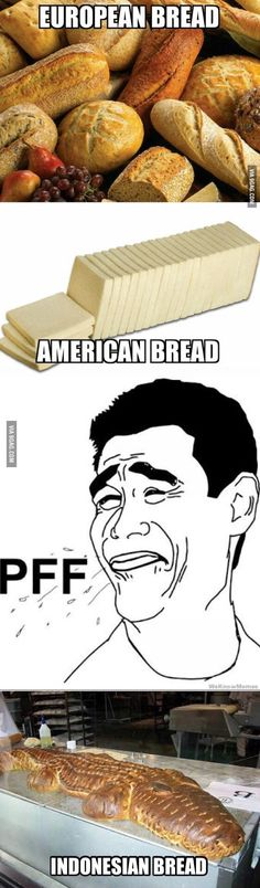 Saving because 3 is the only  American bread. It's boudins'