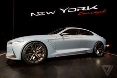 Genesis' New York Concept is a sports sedan that'll make you look twice | The Verge