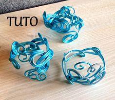 [ TUTO ] bracelet en fil aluminium 1