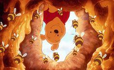 Winnie The Pooh Honey HD Wallpaper