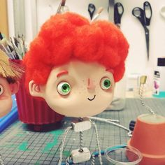 jonas #4 #stop #stopmotion #stopmotionanimation #robertscheffner #robertscheffner-illustrationandanimation #gingerhair #ginger #illustration # animation #puppet #puppen